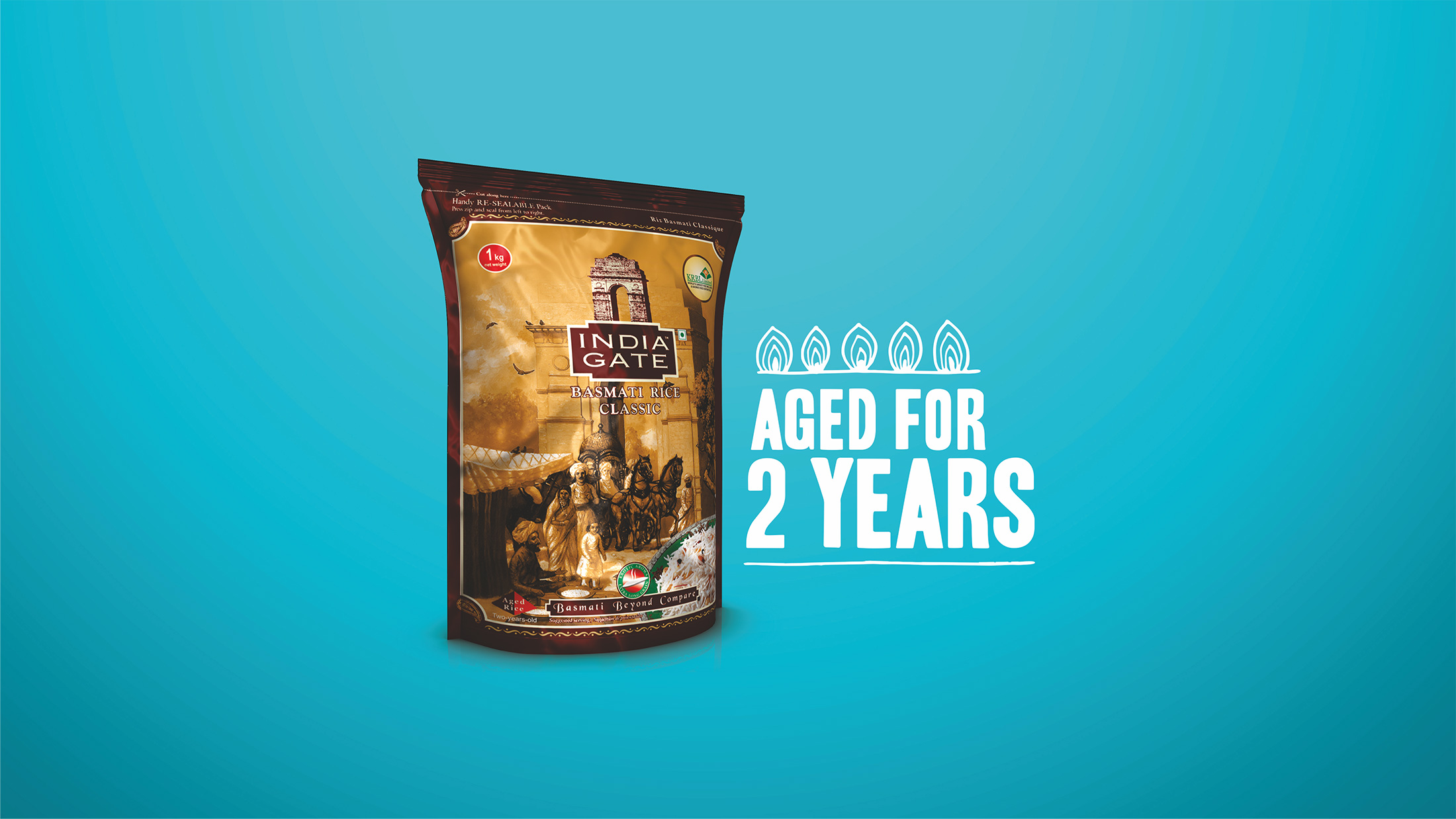 Saath Badehga, Swaad Badhega: Aged for 2 Years Campaign